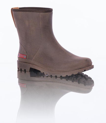 Damen Outdoor-Gummistiefel, Doggo-Bella, braun