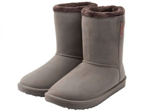 Damen Outdoor-Winterstiefel, Doggo Maya brushed-braun mit Warmfutter