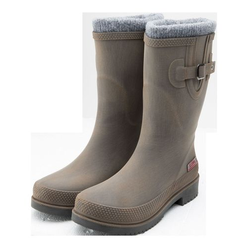 Damen Outdoor-Winterstiefel, Doggo Lotte brushed-braun mit Warmfutter